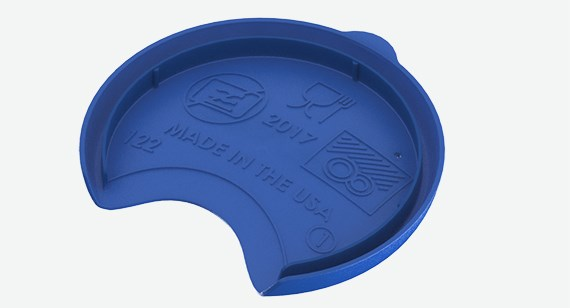 plastic injection molded drinkware manufactured by Protolabs